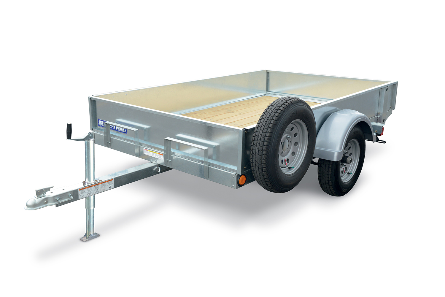 Shown with optional Galvanized Steel High Side Kit and Spare Tire