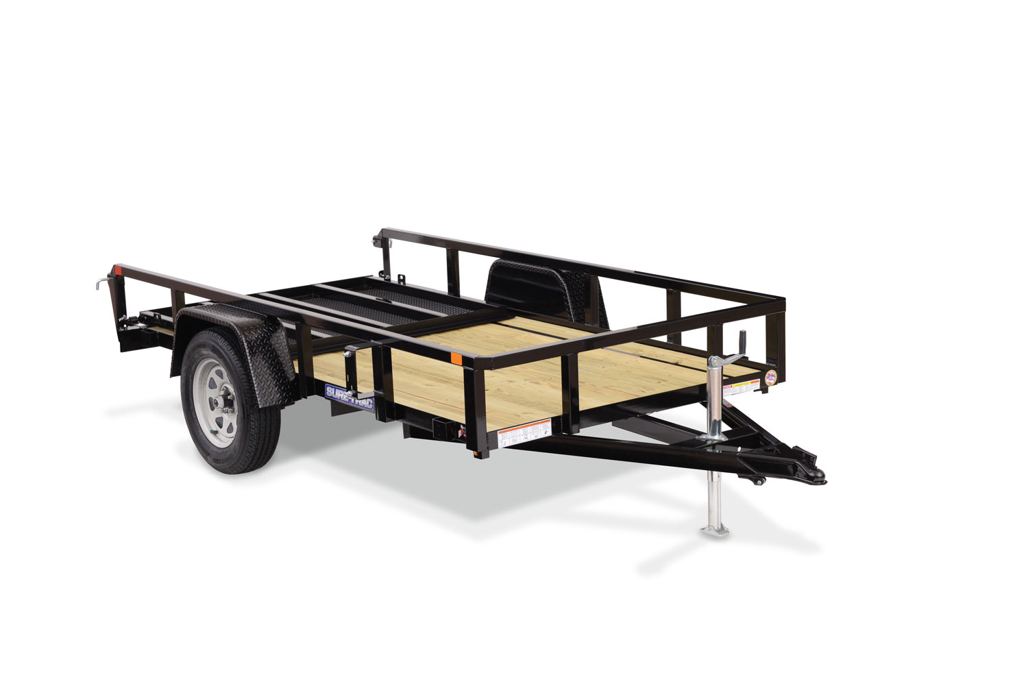Tube Top Utility Trailer