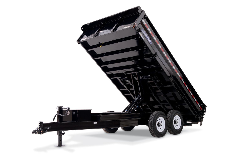 HD Deckover Dump w/ Fold-Down Sides